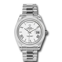Rolex Day-Date 40 Platinum 40mm White Roman numerals United States of America, New York, New York