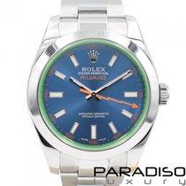 Rolex Milgauss 116400GV 2016 gebraucht