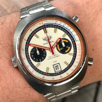 Heuer 110.503 Good Steel 43mm Automatic Finland, HELSINKI