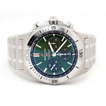 Breitling Chronomat Steel 42mm Green No numerals United States of America, Florida, Aventura