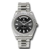 Rolex 228239 Or blanc Day-Date 40 40mm nouveau