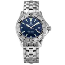 Omega Seamaster 300 Steel 29.2mm Blue No numerals United States of America, New York, Greenvale