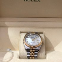Rolex Datejust Gold/Steel 36mm Mother of pearl Roman numerals India, delhi