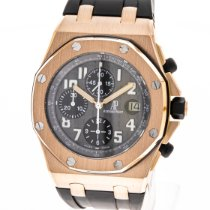 Audemars Piguet Royal Oak Offshore Chronograph Roségold 42mm Grau Arabisch Deutschland, Hannover