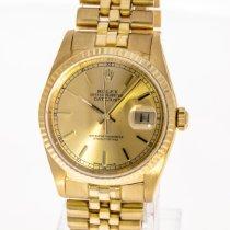 Rolex Datejust Gelbgold 36mm Gold Keine Ziffern Deutschland, Hannover