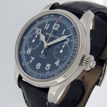 Montblanc 1858 Steel 44mm Blue Arabic numerals United States of America, California, Los Angeles