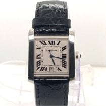 Cartier Tank Française White gold 20mm White Roman numerals United States of America, New York, New York
