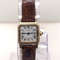 Cartier Santos Dumont Yellow gold 38mm Grey