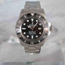 Rolex Sea-Dweller Deepsea Сталь 44mm Чёрный Без цифр