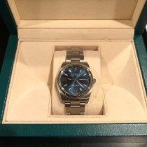 Rolex Oyster Perpetual 34 Acier 34mm Bleu Arabes
