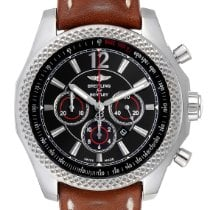Breitling Bentley Barnato Steel 42mm Black Arabic numerals