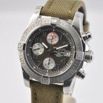 Breitling Avenger II Steel 43mm Grey Arabic numerals United States of America, Ohio, Mason