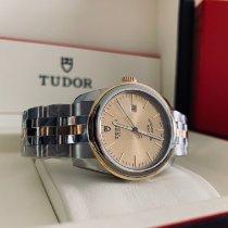 Tudor Glamour Date Gold/Stahl 31mm Champagnerfarben