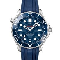 Omega Seamaster Diver 300 M new Automatic Watch with original box and original papers 210.32.42.20.03.001