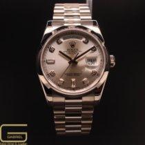 Rolex Day-Date 36 Weißgold 36mm Silber Deutschland, Köln