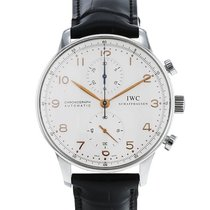 IWC Portuguese Chronograph Acier 41mm Argent Arabes France, Paris