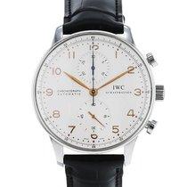 IWC Portuguese Chronograph Acier 41mm Argent Arabes France, Paris