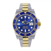 Rolex Submariner Date Acero 40mm Azul