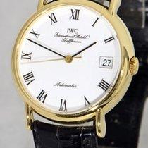 IWC Portofino Automatic Yellow gold 34mm White Roman numerals