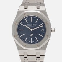 Audemars Piguet Acier Remontage automatique Gris 39mm occasion Royal Oak Jumbo