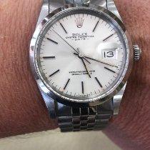 Rolex Oyster Perpetual Date Acier 34mm Argent Sans chiffres France, Beausoleil