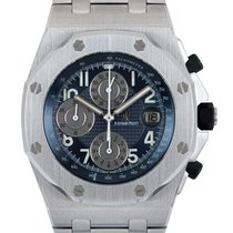 Audemars Piguet Royal Oak Offshore Chronograph Acier 44mm Bleu Arabes
