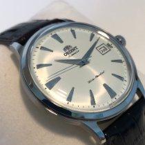 Orient Bambino Ocel 40,5mm Bílá Bez čísel