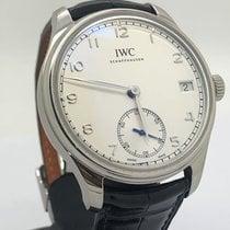 IWC Portugieser Handaufzug neu 2014 Handaufzug Uhr mit Original-Box und Original-Papieren