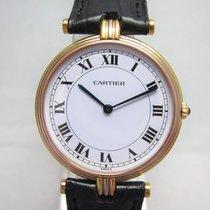 Cartier Trinity Gelbgold 30mm Weiß Römisch Deutschland, Essen