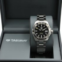 TAG Heuer Aquaracer 300M Steel 41mm Black No numerals