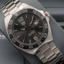 TAG Heuer Formula 1 Calibre 5 Steel 43mm Grey Arabic numerals