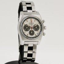 Zenith El Primero Chronograph Acier 37mm Blanc Sans chiffres