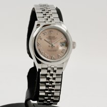 Rolex Lady-Datejust Acero 28mm Rosa Romanos