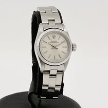 Rolex Oyster Perpetual 26 Acero 26mm Gris Sin cifras