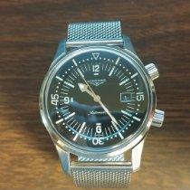 Longines Legend Diver Zeljezo 42mm Crn