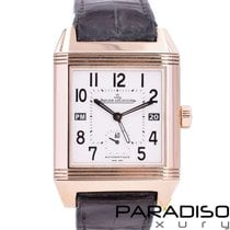 Jaeger-LeCoultre Reverso Squadra Hometime Rose gold 35mm White