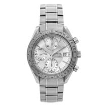 Omega Speedmaster Date Steel 40mm Silver No numerals United States of America, New York, Greenvale