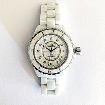 Chanel J12 Céramique 38mm Blanc Sans chiffres