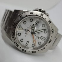 Rolex Explorer II Steel 42mm White No numerals United States of America, California, encino
