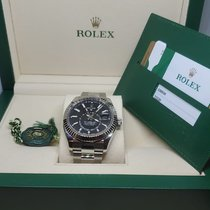 Rolex Sky-Dweller Steel 42mm Black No numerals United States of America, California, encino