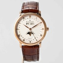 Blancpain Villeret Quantième Complet Rose gold 37.6mm White Roman numerals United States of America, Massachusetts, Boston
