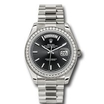Rolex 228349RBR Or blanc Day-Date 40 40mm nouveau