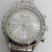 Omega Speedmaster Day Date Steel 39mm Silver No numerals