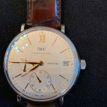 IWC Portofino Hand-Wound Aço 45mm