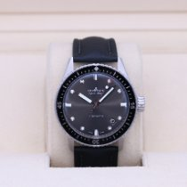 Blancpain pre-owned Automatic 43mm Grey Sapphire crystal 30 ATM