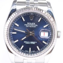 Rolex Datejust Steel 36mm Blue United Kingdom, St Albans Hertfordshire
