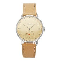 NOMOS Metro Neomatik occasion 35mm Champagne Cuir