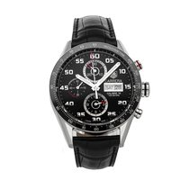 TAG Heuer Carrera Calibre 16 Steel 43mm Black Arabic numerals United States of America, Pennsylvania, Bala Cynwyd