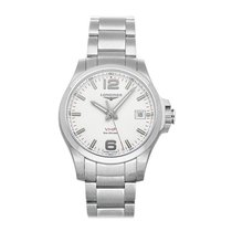 Longines Conquest Steel 41mm Silver Arabic numerals United States of America, Pennsylvania, Bala Cynwyd