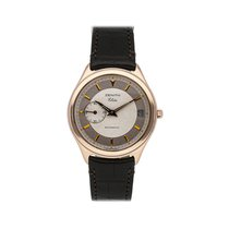 Zenith Elite Rose gold 36mm Silver No numerals United States of America, Pennsylvania, Bala Cynwyd
